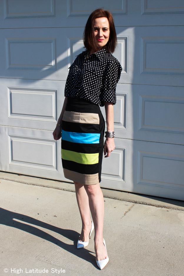 #styleover40 eShakti custom made skirt | High Latitude Style http://wp.me/p3FTnC-22n