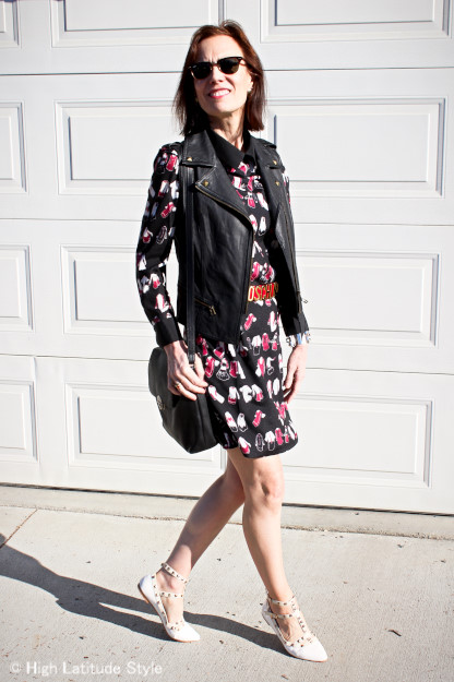 #fashionover40 VB dress http://www.highlatitudestyle.com