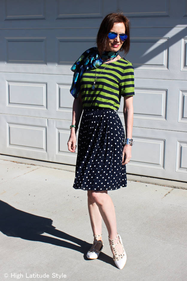 #over40 #over50 picnic outfit for mature women | High Latitude Style | http://wp.me/p3FTnC-3f8