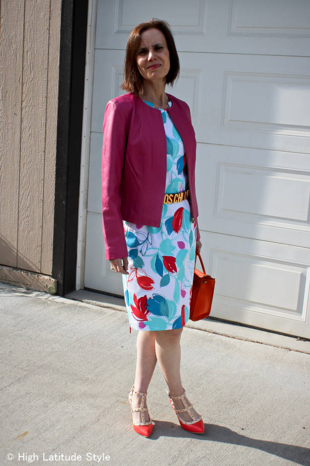 styleover40 summer work outfit