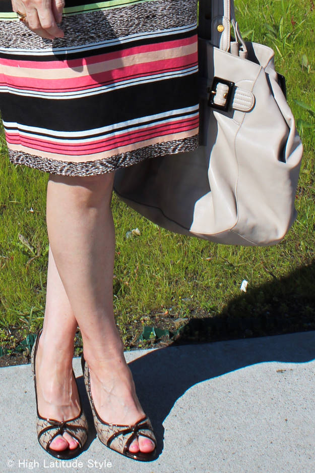 #fashionover50 details of summer office outfit @ http://www.highlatitudestyle.com