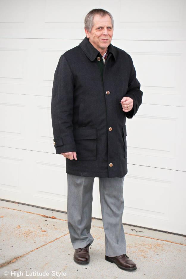 fashion Innsbrucker janker men's coat