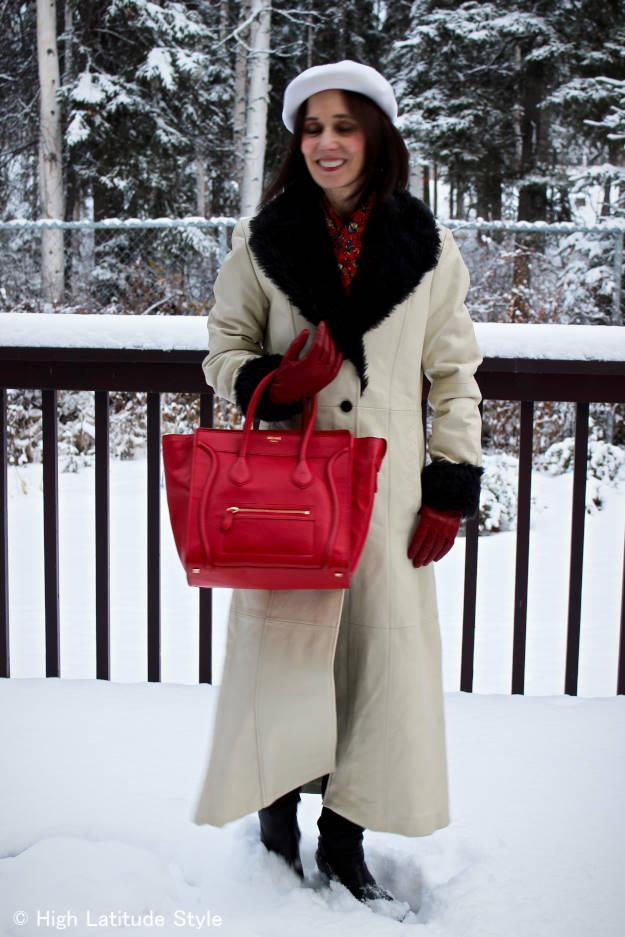 #HighLatitudeStyle #winteroutfit #Celinebag
