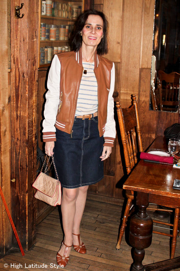 #MarineLayer #fashionover40 mature woman in casual outfit for the movies http://wp.me/p3FTnC-2wl