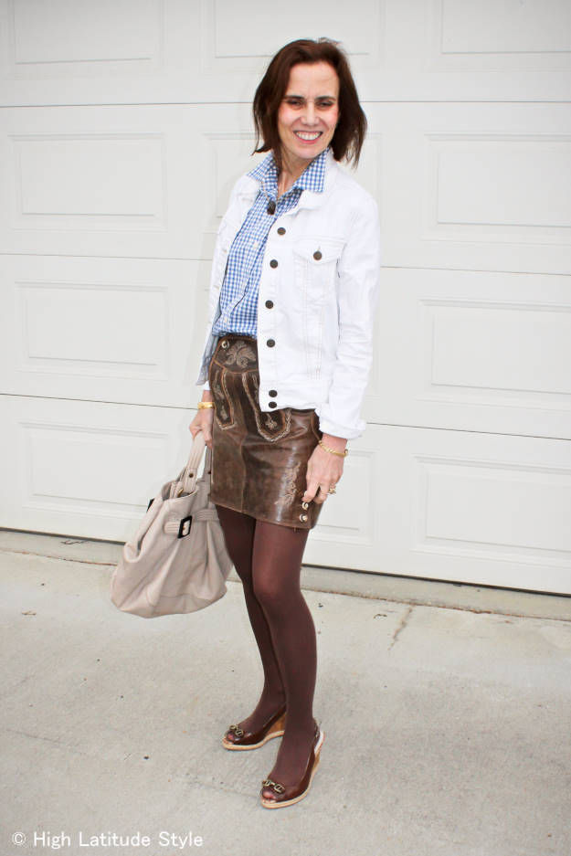 #streetstyle #Lederhosentuerlerock #HighLatitudeStyle Learn how to shop your closet for a Halloween costume on http://wp.me/p3FTnC-2wQ