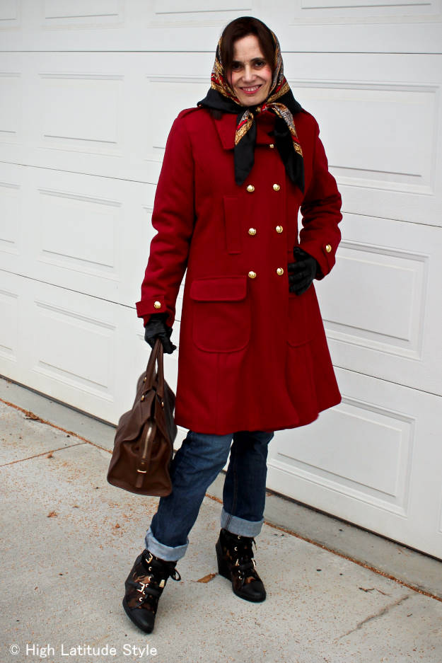 #headscarf #peacoat #streetstyle #HighLatitudeStyle #wintercoat http://wp.me/p3FTnC-2yy