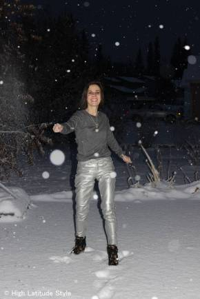 over 40 streetstyle in winter