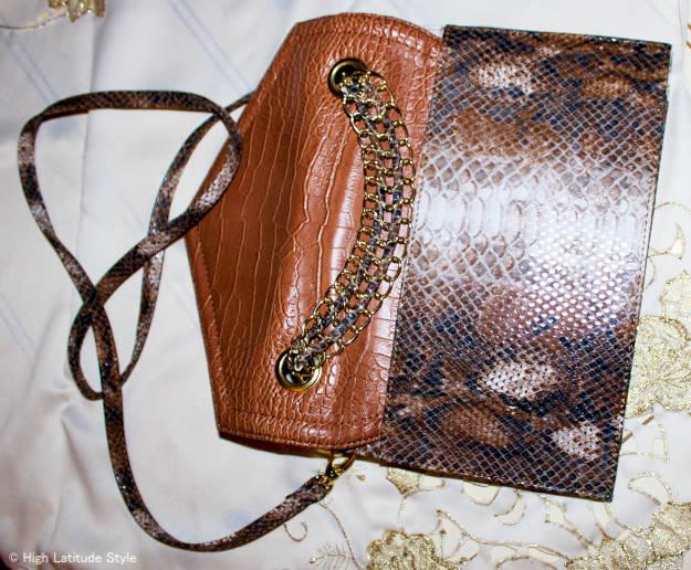 Convertible Crossbody minibag/clutch
