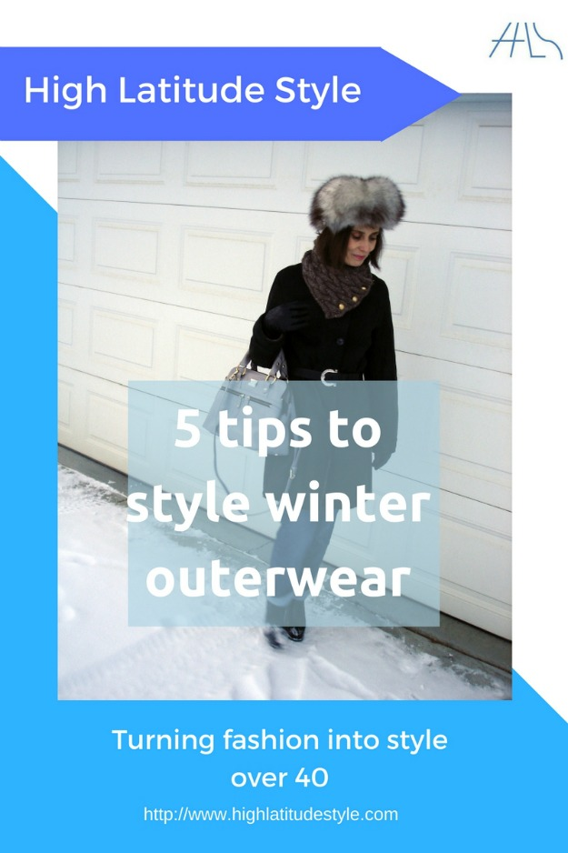 5 tips to style winter outerwear over 40