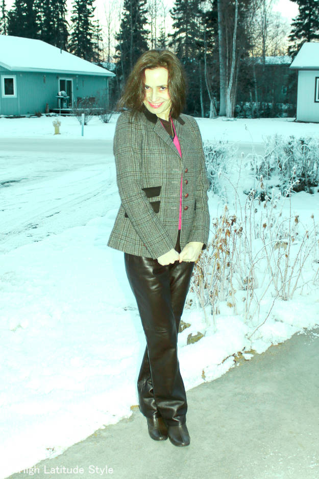 fashionover40  Timeless winter outfit