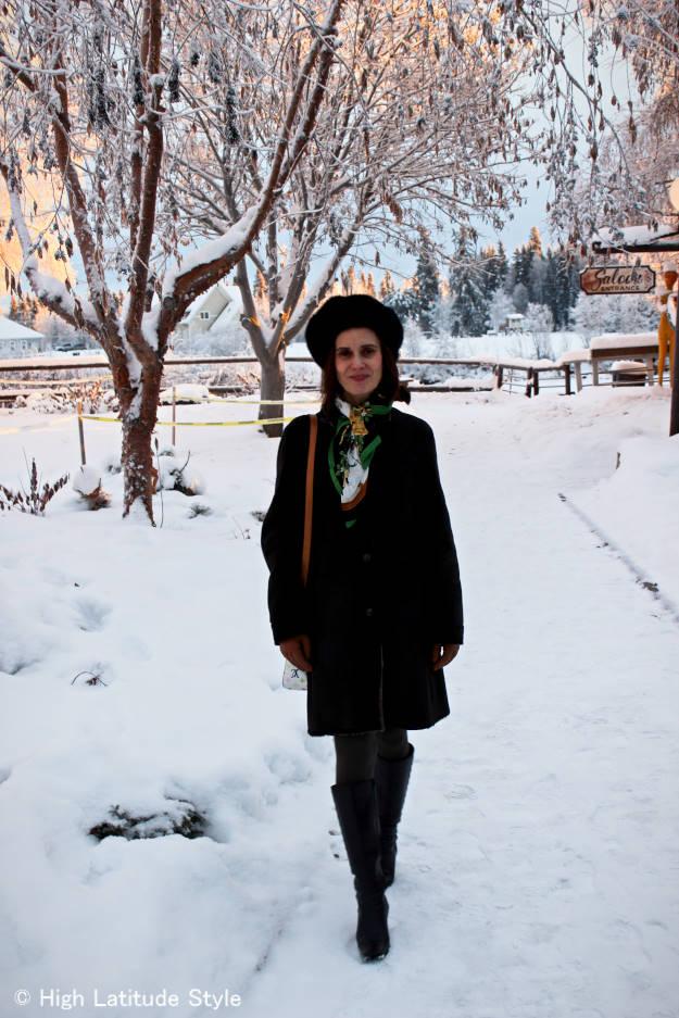 #over40 winter outerwear    High Latitude Style   http://www.highlatitudestyle.com