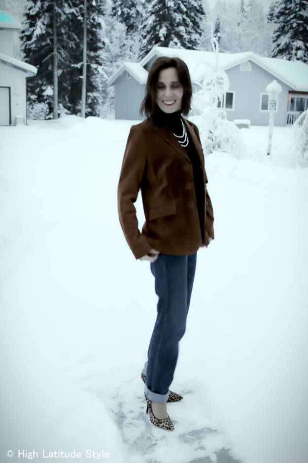 #over40 Casual office look | High Latitude Style | http://www.highlatitudestyle.com