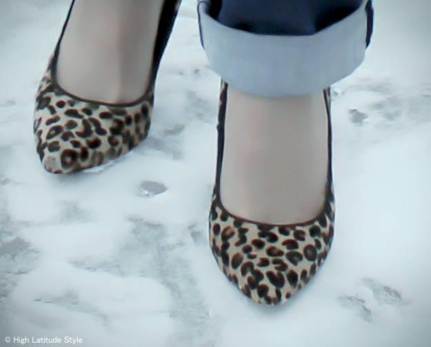 #maturefashion Leopard print pumps 101 reasons to wear heels @ http://wp.me/p3FTnC-41K