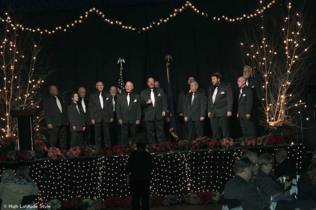 Focus Alaska travel Great Land Sounds Men's Chorus at http://www.highlatitudestyle.com