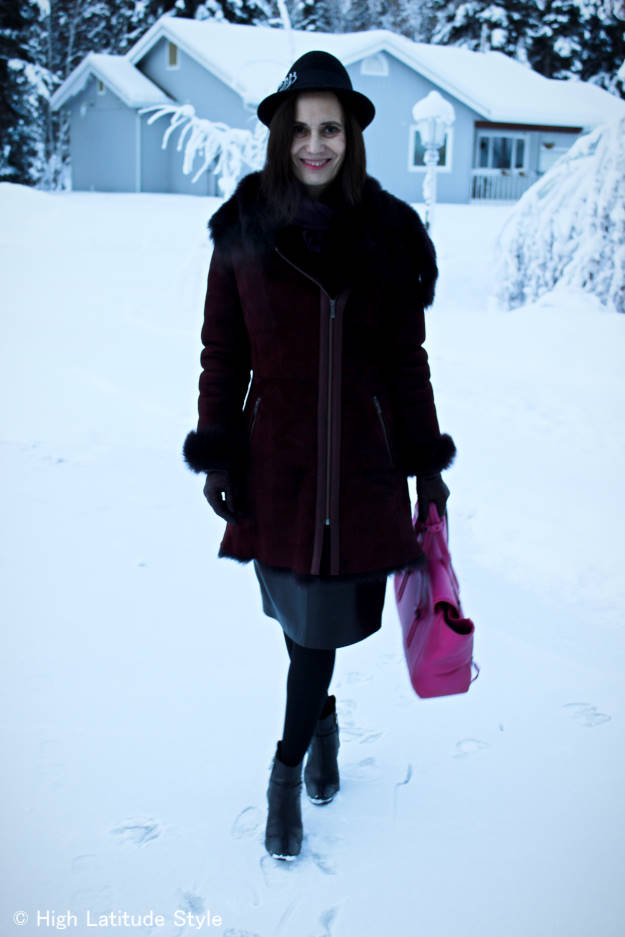 fashionover40 Layered outerwear