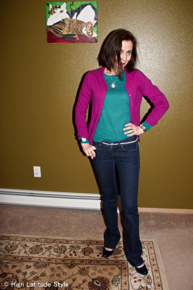 #over40 Casual Friday outfit | High Latitude Style | http://www.highlatitudestyle.com