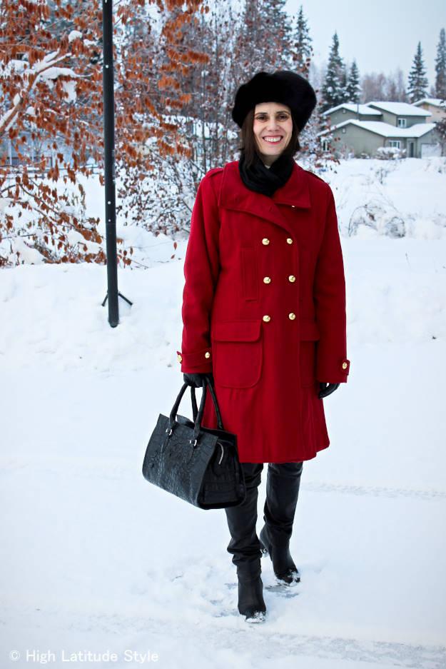 #over40 outerwear | High Latitude Style | http://www.highlatitudestyle.com
