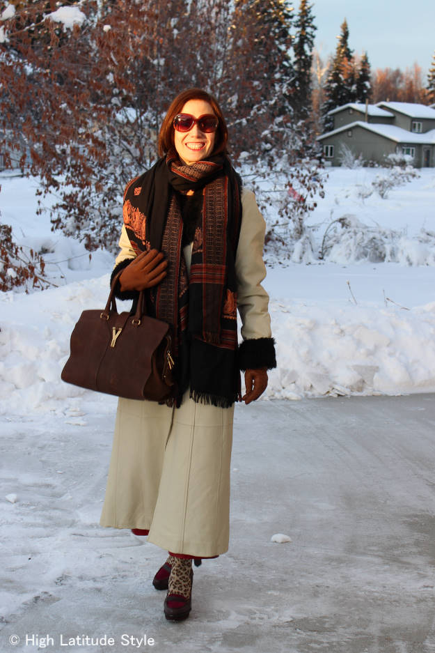 #over40fashion Spring outfit in Alaska | High Latitude Style | http://www.highlatitudestyle.com