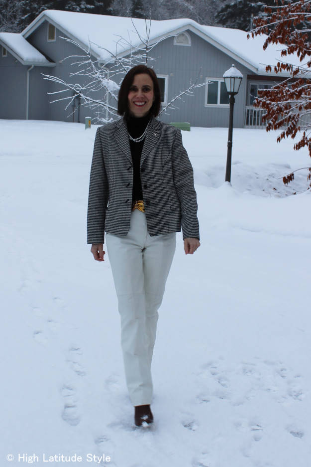 #over40 spring black and white work outfit  | High Latitude Style | http://www.highlatitudestyle.com