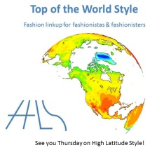#linkup #fashionlinkup #over40fashion | Top of the World Style linkup party logo | High Latitude Style | http://www.highlatitudestyle.com