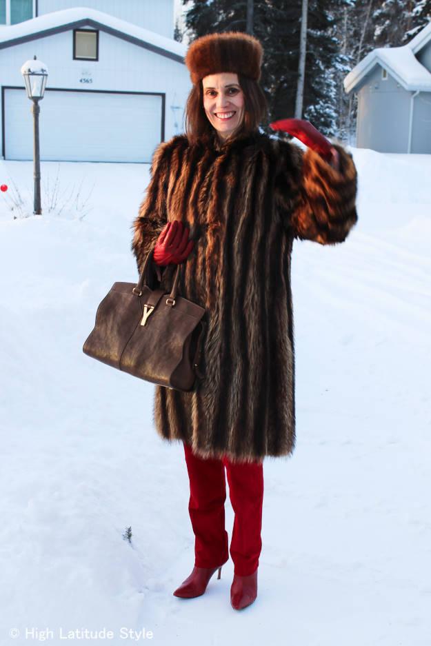#over40 Alaska spring outfit  | High Latitude Style | http://www.highlatitudestyle.com