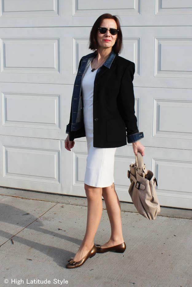 #fashionover50  Summer dress for spring | High Latitude Style | http://www.highlatitudestyle.com