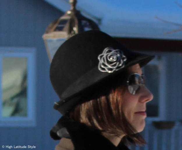 #over40 #over50 hat appropriate to wear to work | High Latitude Style | http://www.highlatitudestyle.com