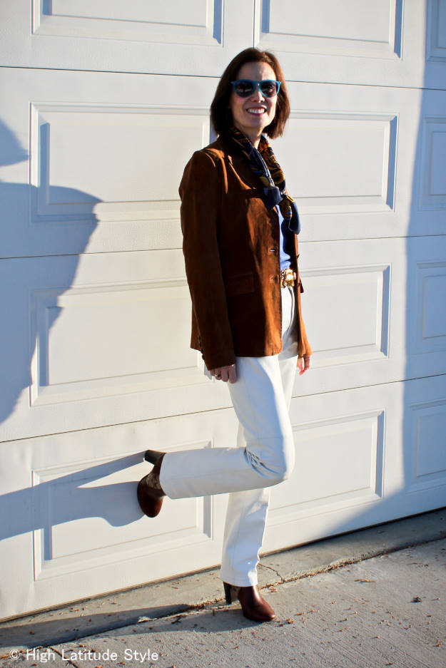 fashion over 40 American West casual work look
