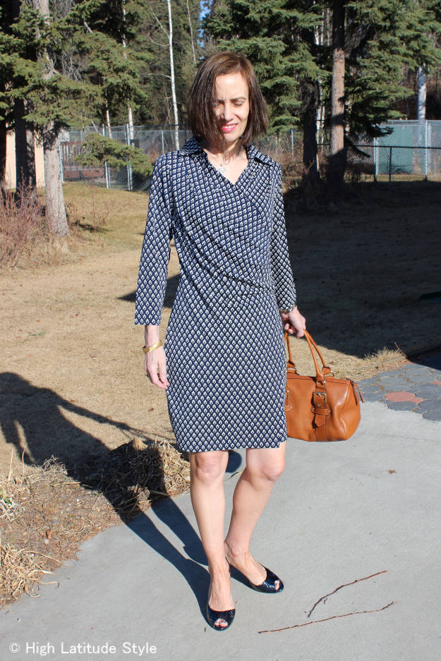 #globalTrend best spring trends wrap dress | High Latitude Style