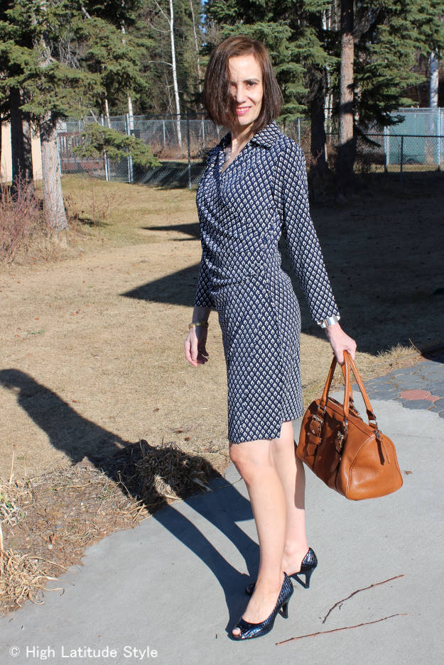 #review #HSN Samantha Brown wrap dress | High Latitude Style |http://wp.me/p3FTnC-3cR