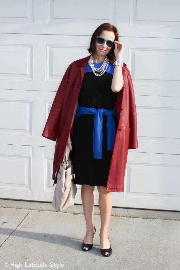 #over40 #over50 Work look with coat | High Latitude Style | http://www.highlatitudestyle.com