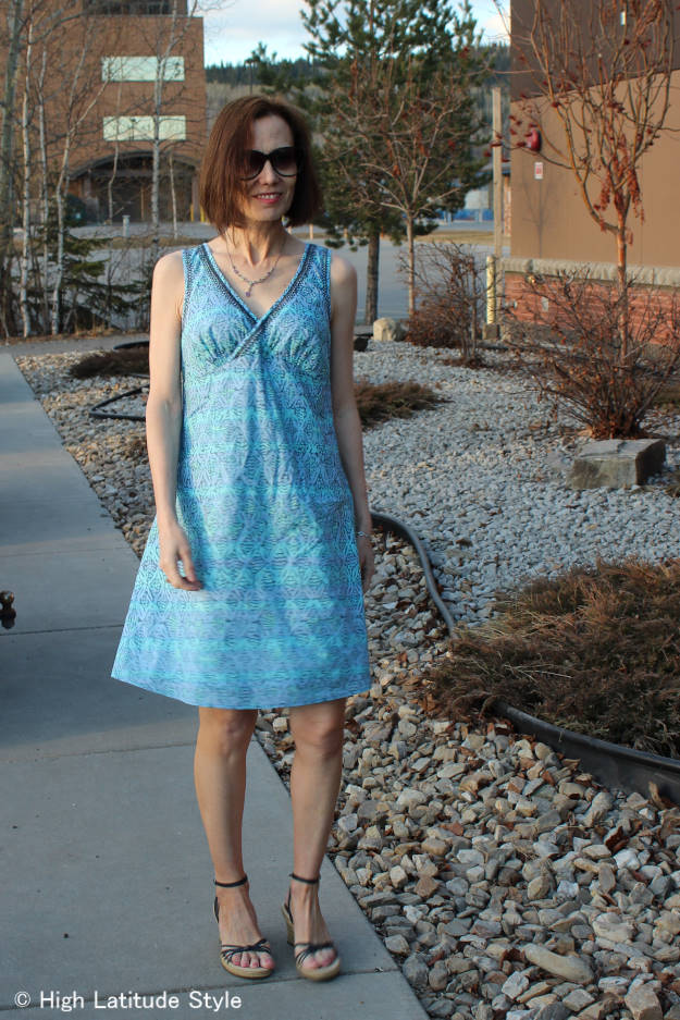 #HSN #review Sigrid Olsen designer shift dress | High Latitude Style | http://wp.me/p3FTnC-3cU