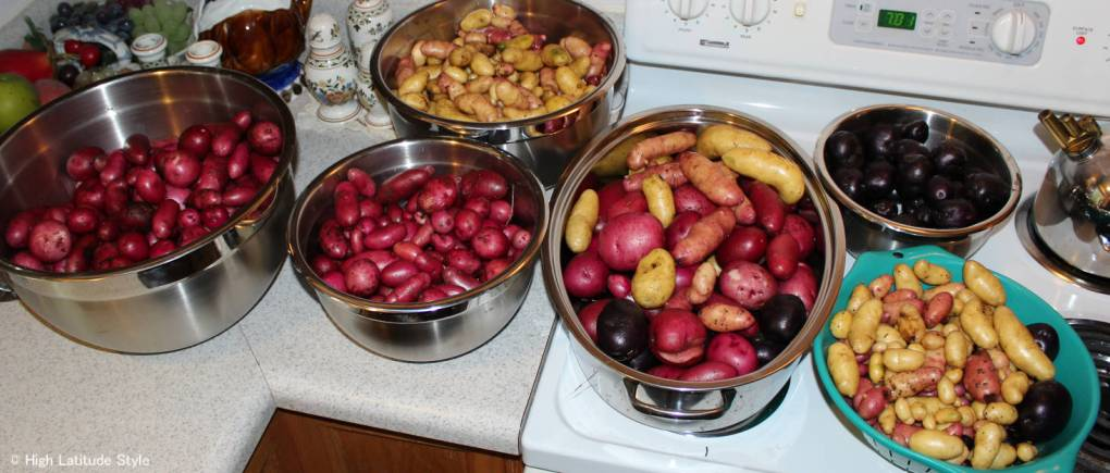 Alaska Alaska grown potatoes
