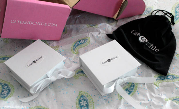 #Cate&Chloe content of Cate & Chloe VIP box comes in little gift boxes | High Latitude Style | review and promo code at http://wp.me/p3FTnC-3ha