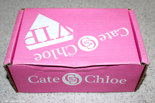 Photo of the Cate & Chloe VIP box upon arrival | High Latitude Style | review and promo code at http://wp.me/p3FTnC-3ha