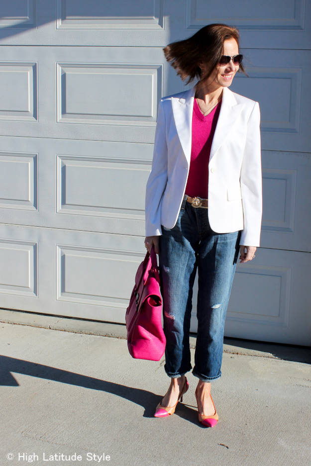 #over40 #over50 Casual Friday outfit for work | High Latitude Style | http://www.highlatitudestyle.com