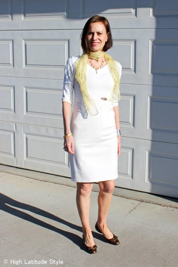 #40 #50 sheath dress for work   High Latitude Style   http://wp.me/p3FTnC-3fU