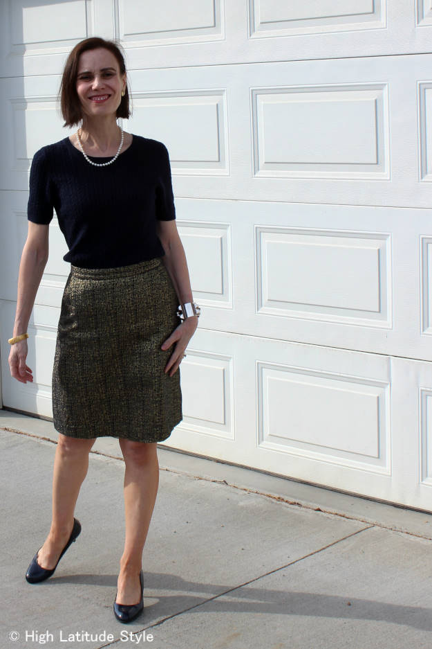 #ThePearlSource #over40 #over50 work outfit | High Latitude Style | http://www.highlatitudestyle.com