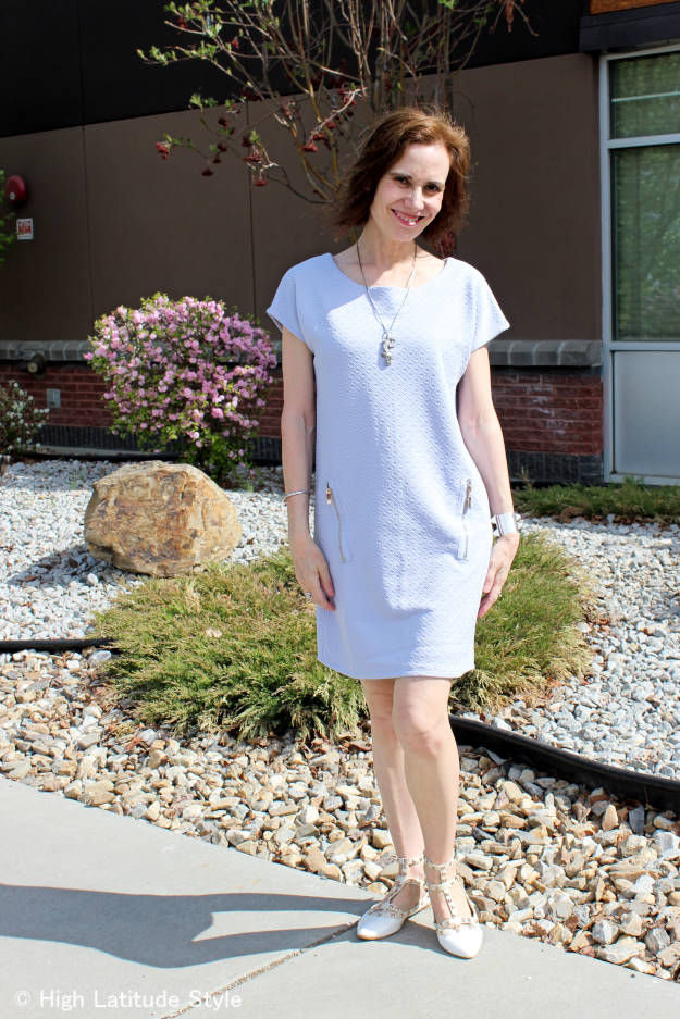 #BlueVanilla shift dress c/o Blue Vanilla | High Latitude Style | read review here