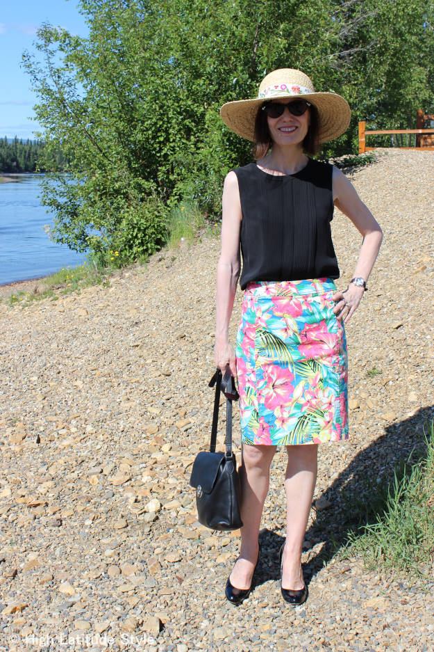#over40fashion #over50fashion summer outfit | High Latitude Style | http://www.highlatitudestyle.com