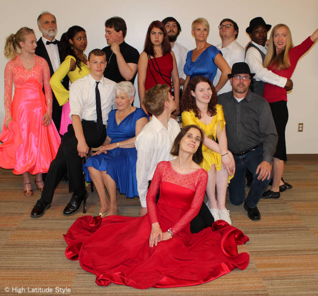 members of the 2015 dancing with the Fairbanks stars competitors