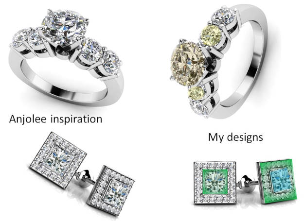 #Anjolee design you own jewelry | High Latitude Style | http://www.highlatitudestyle.com