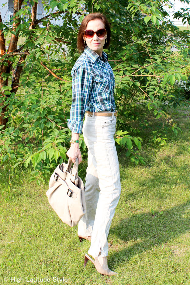 #over40fashion #over50fashion casual look for work | High Latitude Style | http://www.highlatitudestyle.com