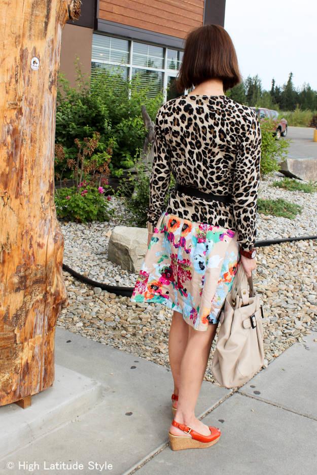 #fashionover40 #over50fashion mixing prints over 40   High Latitude Style   http://www.highlatitudestyle.com