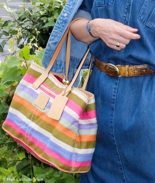 #Coach-bag summer work bag @ http://www.highlatitudestyle.com