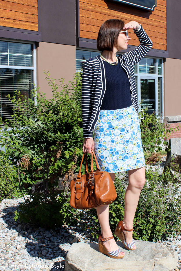 #fashionover40 #fashionover50 summer work outfit   Hifh Latitude Style   http://www.highlatitudestyle.com