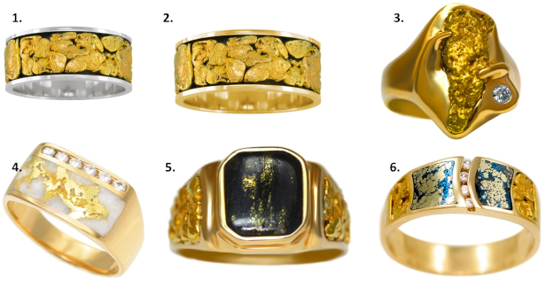 #Alaska-Jewelry Alaska style jewelry for men. Photos from http://www.alaskajewelry.com | High Latitude Style | http://www.highlatitudestyle.com