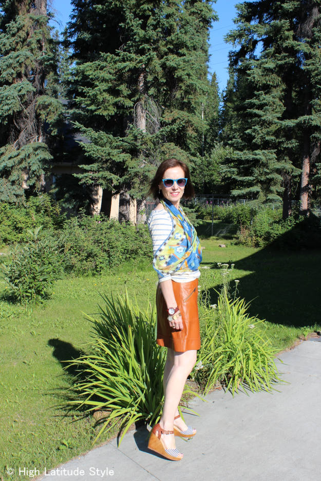 #fashionover50 #Fashionover40  outfit for casual Friday | High Latitude Style | http://www.highlatitudestyle.com