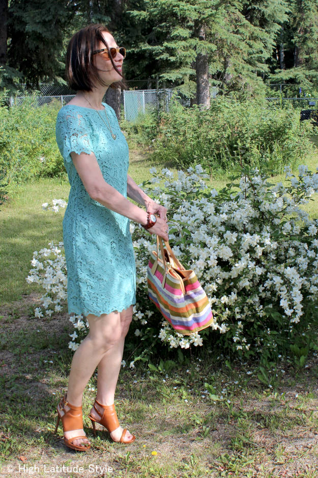 #laceover40 #laceover50 Ageless style - how to wear lace over 40 | High Latitude Style | http://www.highlatitudestyle.com
