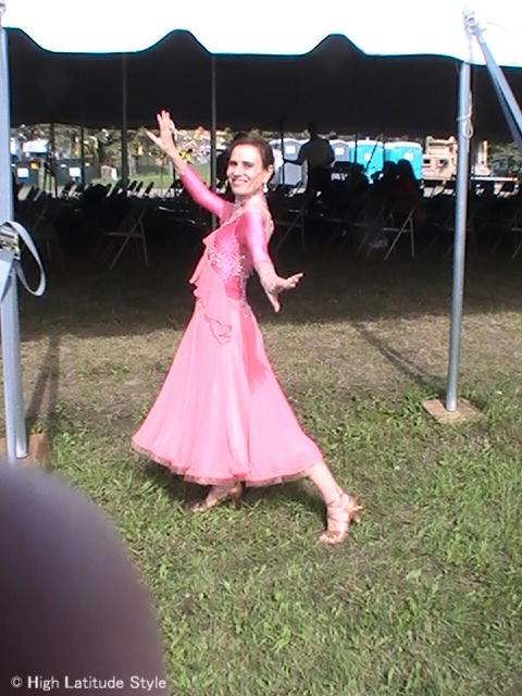 Warmup for Dancing with the Fairbanks Stars @ High Latitude Style @ http://www.highlatitudestyle.com